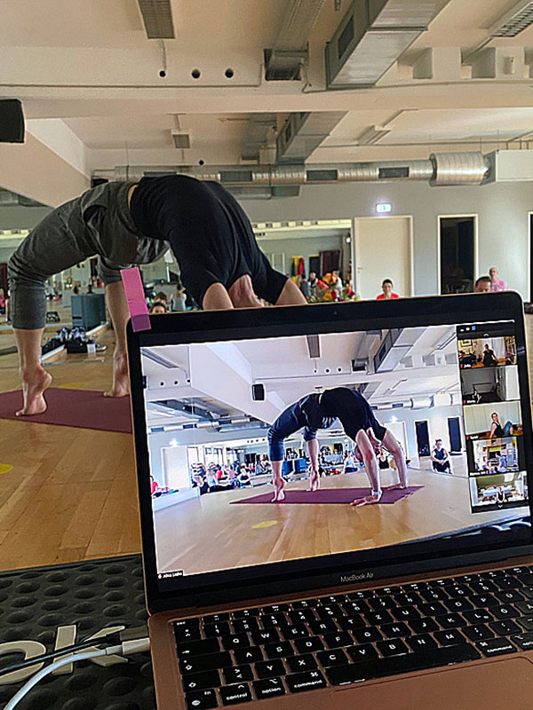 Online Yoga Ausbildung